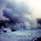 Ice Cloud Over Niagra by Melissa Shawn Griffin
