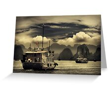 Halong Bay #0301 Greeting Card