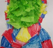 Rene' Magritte inspired art by Abby age 8 by BShirey