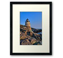 Castle Hill Lighthouse -Rhode Island Framed Print