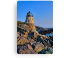 Castle Hill Lighthouse -Rhode Island Canvas Print