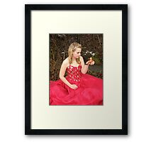 She Lives in a Fairytale 10 Framed Print