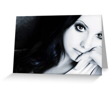 Silent Moments Greeting Card