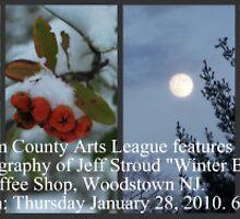 Reception card by Jeff Stroud