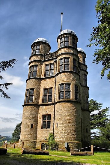 Chatsworth House Hunting Tower by Nick Barker