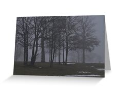 Giants in the Mist Greeting Card