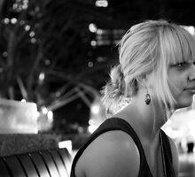 Jess in B&W by Kyra  Webb