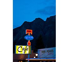 Twin Peaks Diner Photographic Print