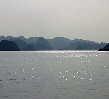 """Blues Hue's"" - Halong Bay, Vietnam by Tamazical"