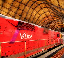 V-Line - Southern Cross Station by Hans Kawitzki