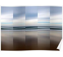 Changing With The Tide - Polyptych Poster