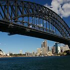 Sydney Harbour Bridge from Milsons Point by Keith Robinson