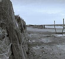 Sea Defence at Burnham Overy Straithe, North Norfolk by johnny2sheds