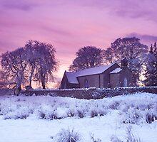 Christmas At Fenagh Church. Co. Leitrim. Ireland by EUNAN SWEENEY