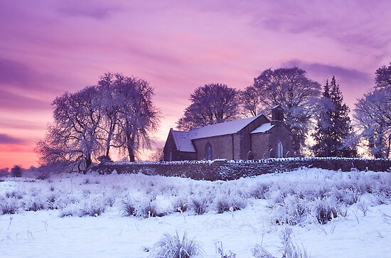 Christmas At Fenagh Church. Co. Leitrim. Ireland by EUNAN SWEENEY