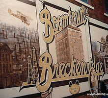 Breckenridge Texas Mural by Billy Ines