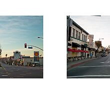 Eagle Rock Boulevard + Colorado Boulevard (II), Los Angeles, California, USA...narrowed. by David Yoon