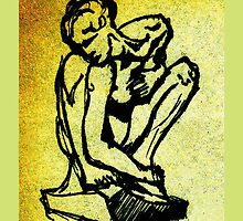 Rodin - Crouching Woman by Patricia Howitt
