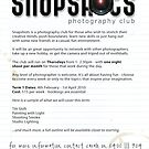 Snapshots - Photography Club by Sarah Moore
