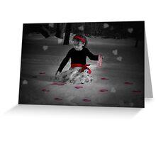 Be My Valentine Greeting Card