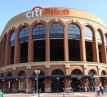 Citi Field Jackie Robinson Rotunda Entrance by bmwlego