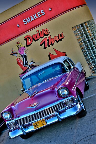 '56 Chevy by Ann J. Sagel