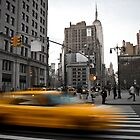 New York Taxi by Aaron Corr
