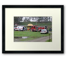 A LESSON TO BE LEARNED HERE Framed Print