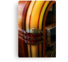 Old Time Rock n Roll Canvas Print