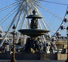Paris, Place de la Concorde by bubblehex08