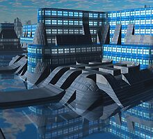 Amalgamated Worlds Bank by AlienVisitor
