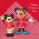 Mickey &amp; Minnie Valentine   by Betty E Duncan  Blue Mountain Blessings Photography