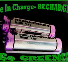 Be In Charge-RECHARGE! by Bea Godbee