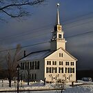 The Rindge Meeting House Rindge, NH by Rebecca Bryson