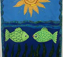 """You are the only fish in the sea for me"" by Ilze Coombe"