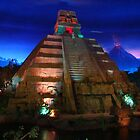 Epcot Center inside Mexico Pavillion by bmwlego