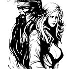 MGS collection; Snake and Eva by Dead as a Dodo Limited
