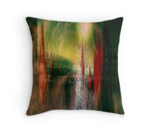 existence end.... dust silent wind Throw Pillow