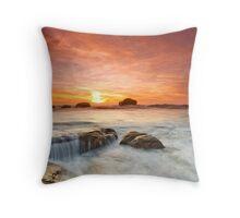 Mystical Sunset Throw Pillow