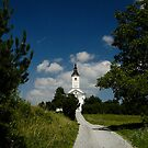 Church on a Hill by Xandru