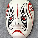 Chinese opera mask by lollored