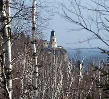 Split Rock Light House (Through the Trees) by pshootermike