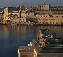 WWII Memorial  Valletta Malta by Edwin  Catania