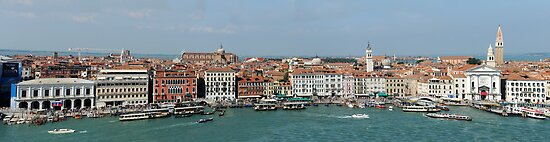 A View of Venice by Jacinthe Brault
