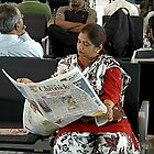 WAITING FOR HER FLIGHT by RakeshSyal