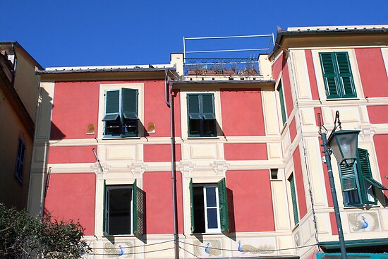 Colourful House at Portofino by sstarlightss