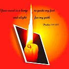 Psalm 119:105   A Light by MaeBelle