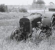 Old tractor by Greg Carrick