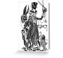 Mad Friends Greeting Card