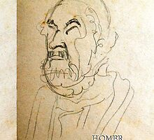 Homer, The Blind Bard by Patricia Howitt